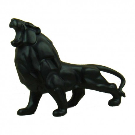 Statue Lion Noir