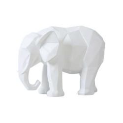 Statue Éléphant Blanc 27cm