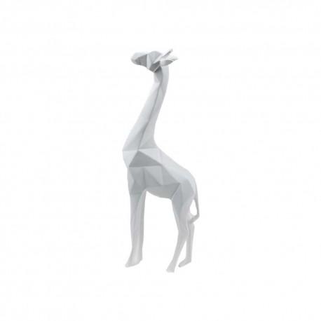Statue Girafe Blanche 30cm